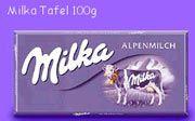 Die Milka - wichtig zur Orientierung beim Einkauf