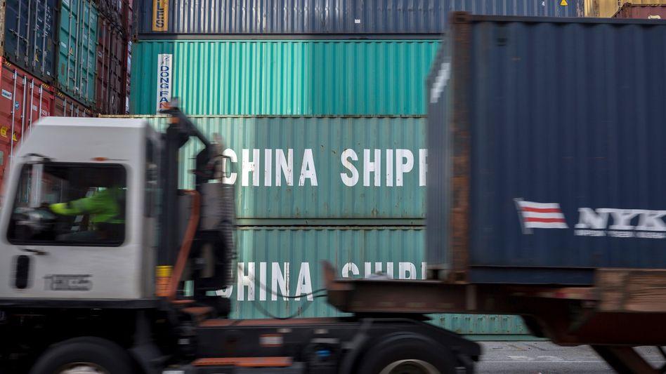 Handelsstreit zwischen China und den USA: China betonte zuletzt Gesprächsbereitschaft - nun wollen die USA über eine Lösung des Konflikts beraten