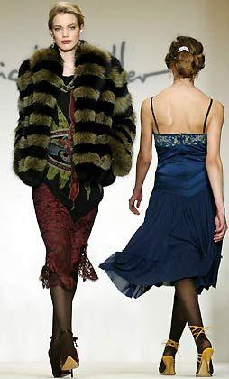 Mode von der Designerin Nicole Miller
