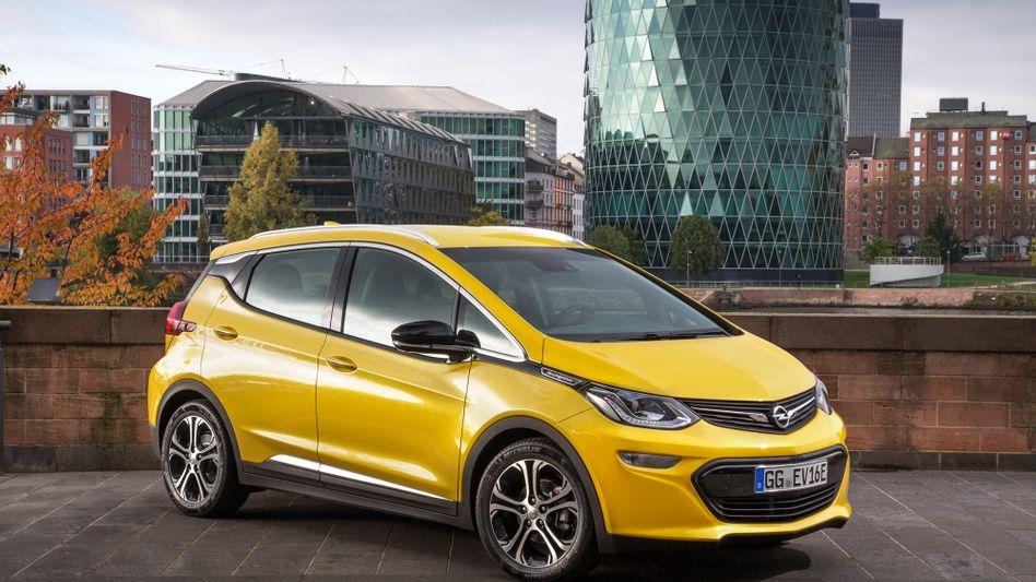 """Elektroauto Opel Ampera: Deutschland und Frankreich wollen Batteriezellen """"made in Europe"""""""