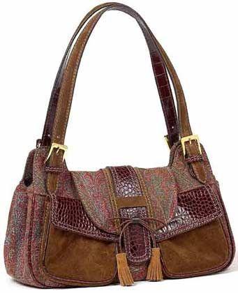 Accessoire: Bunte Handtasche aus dem italienischen Fashion-Haus Etro