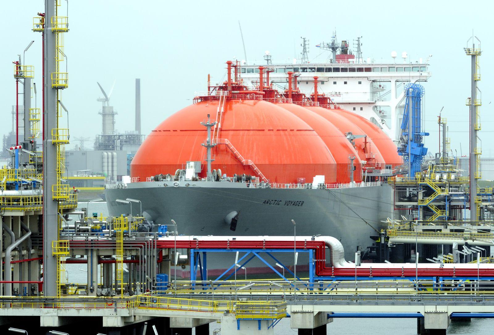 LNG-Terminal / Rotterdam