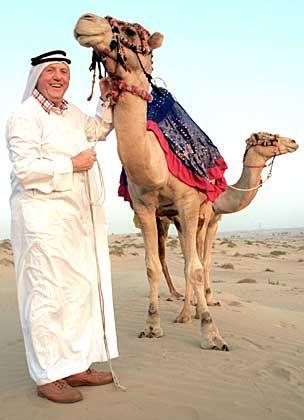 Beliebt in Fernost: Karl Moik in Dubai