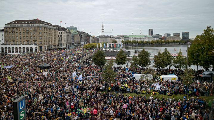 Fridays for Future: Kundgebung in Hamburg