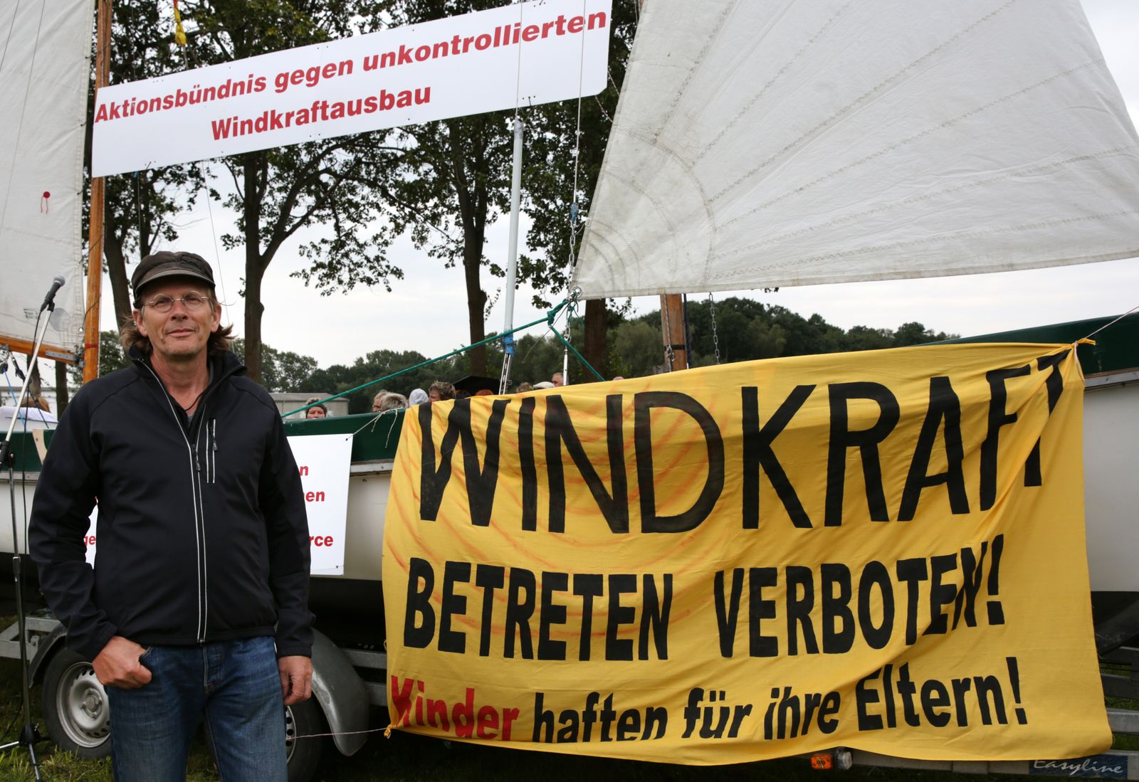 Windkraft; Protest
