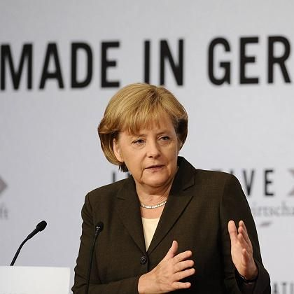 """Kanzlerin Merkel: Insolvenz """"bedeutet keineswegs, dass es sich um eine Pleite handelt"""""""