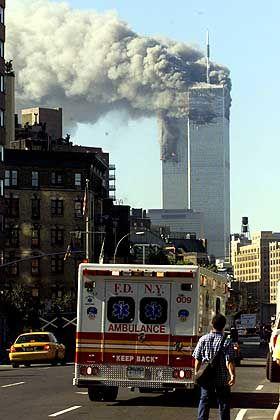 Täglich 80.000 Besucher - das World Trade Center wurde in der morgendlichen Rush-Hour getroffen
