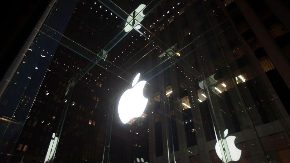 Diffuses Bild: Weshalb stürzte die Aktie von Apple ab?