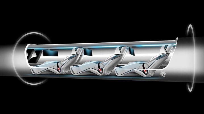 Hyperloop bisher nur für Passagiere gedacht, nun auch als Transportmittel im Blick
