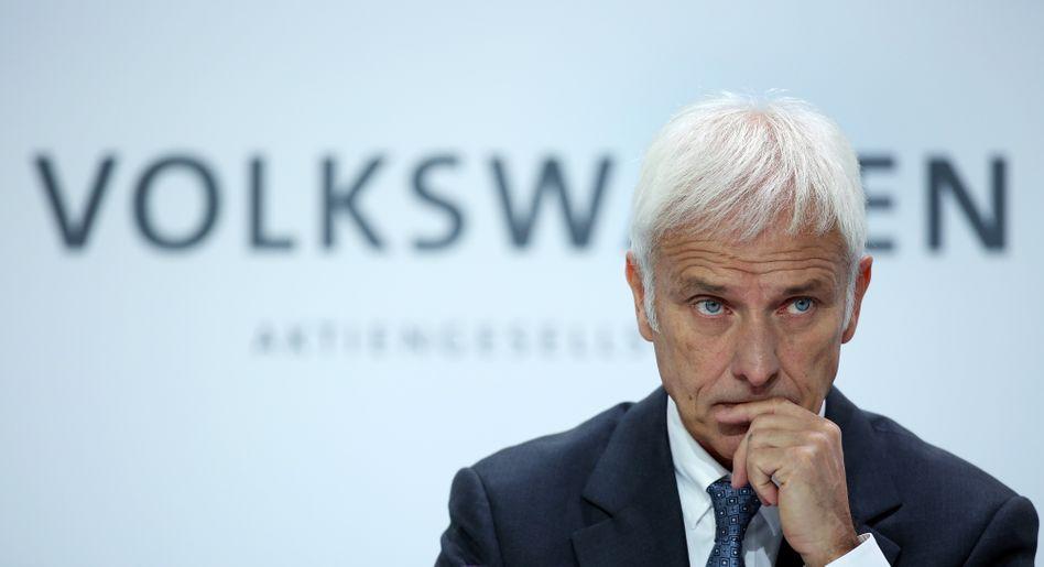 VW-Chef Matthias Müller: Den Abgasskandal bewältigen - und noch viel mehr