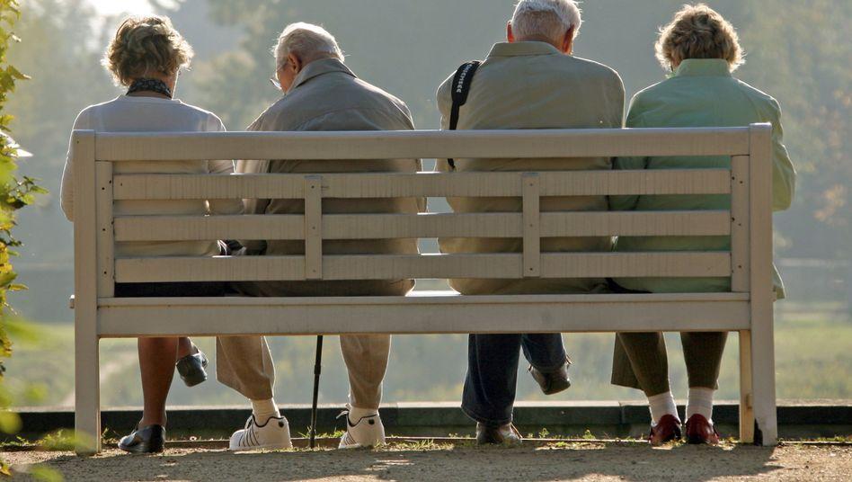 Rentner: Hauptsache, das System hält noch für den eigenen Lebensabend