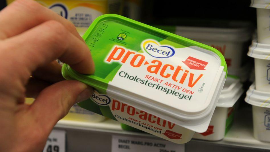 Unilever-Produkt Becel: Im Rahmen des Umbaus soll die Brotaufstrichsparte verkauft oder ausgegliedert werden