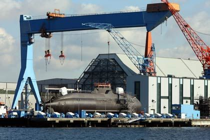 U-Boot-Bau in Kiel: Die deutschen Hersteller haben noch Rechnungen mit der Athener Regierung offen