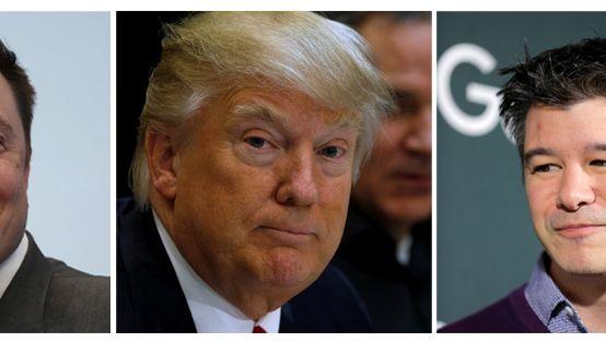 Elon Musk wird zwar von Tesla-Kunden angefeindet, sucht aber weiter die Nähe des US-Präsidenten Donald Trump