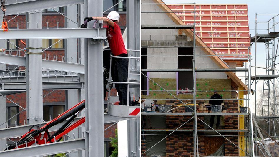 Bauen in Deutschland wird oft über Bausparen finanziert.