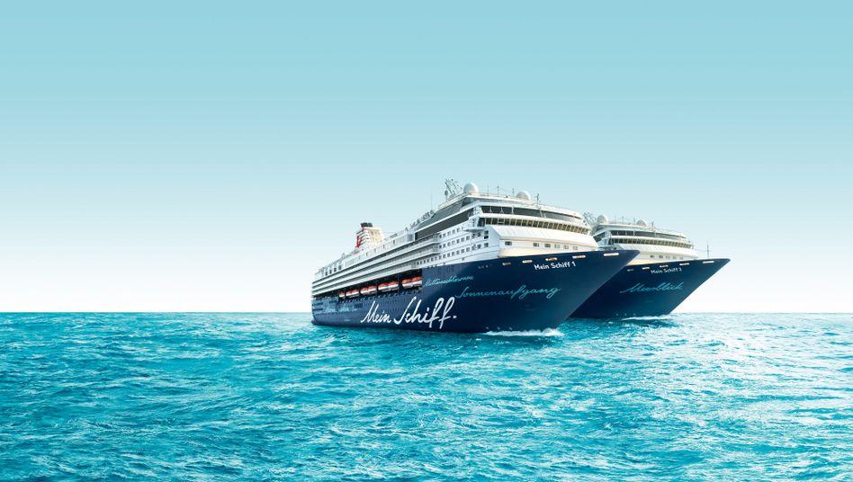 Tui-Cruises: Reisegeschäft des Tui-Konzerns zuletzt erfolgreich