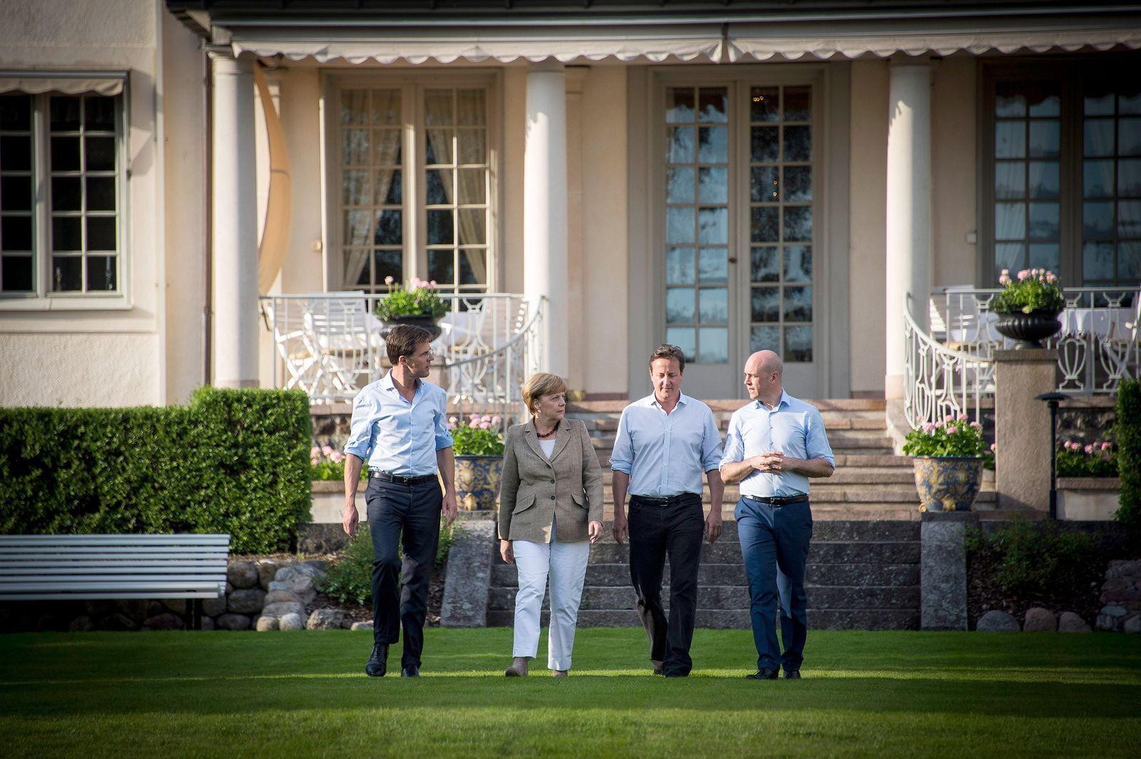 Merkel Rutte Reinfeldt Cameron