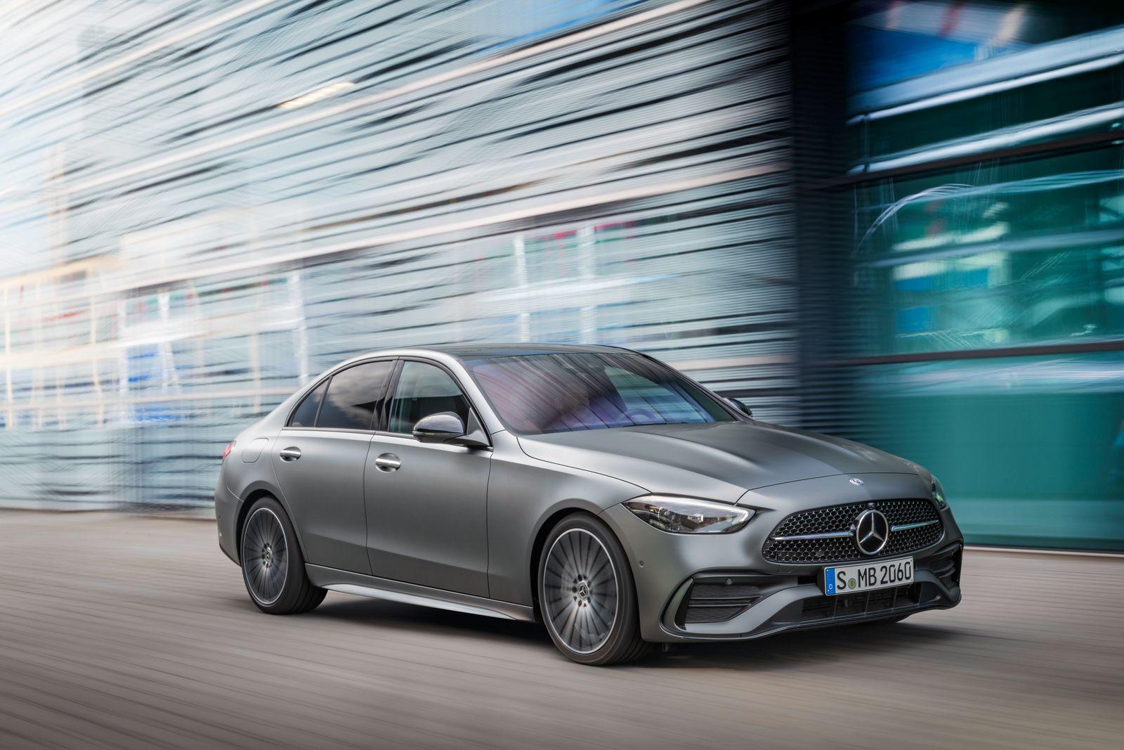 PAD/Embargo Digital World Premiere: Tuesday, February 23rd 02:00 pm (CET)/14:00 Uhr (MEZ) Mercedes-Benz C-Klasse, 2021 // Mercedes-Benz C-Class, 2021