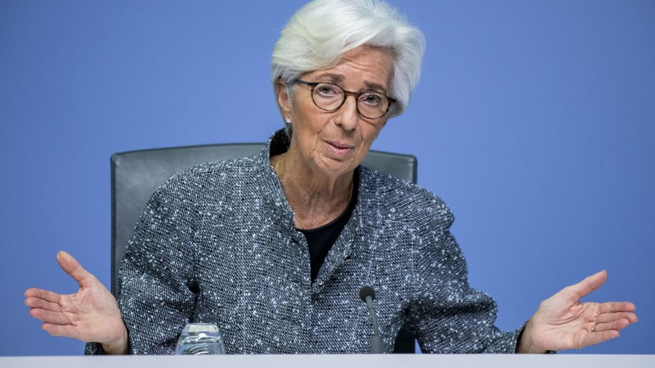 Christine Lagarde: Die hochschnellenden Inflationsraten werden aus Sicht der EZB-Chefin ein vorübergehendes Phänomen bleiben - nach einem Preisauftrieb im Herbst würde die Inflation 2022 wieder fallen