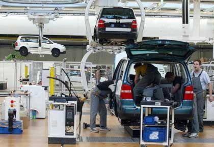 """""""Auto 5000""""-Projekt: Ähnlich wie beim Touran soll auch beim Golf V das Arbeitszeitmodell verändert werden"""