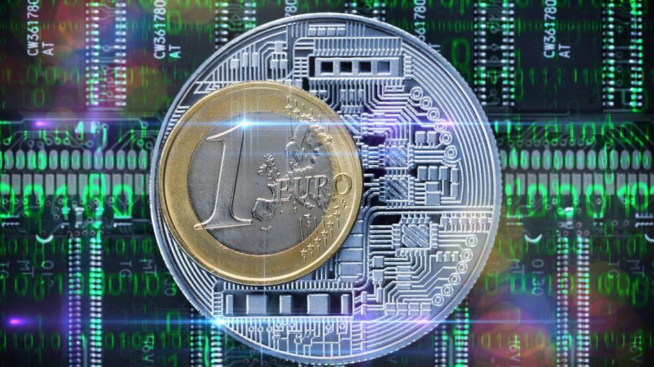 Cyberdevise: Die EZB bastelt am digitalen Euro