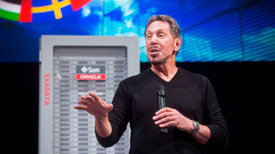 Oracle-Gründer und Executive Chairman Larry Ellison