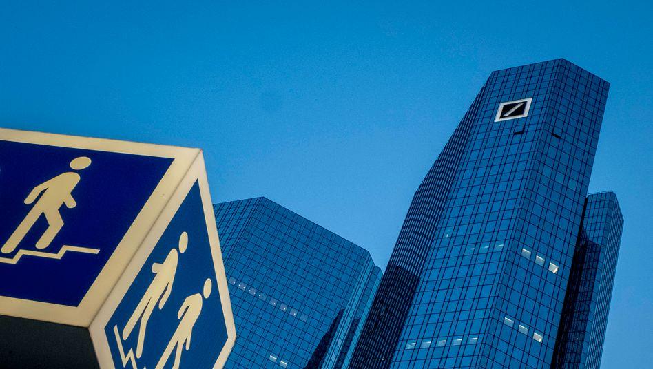 Up in the air: Die Deutsche Bank bastelt an ihrer Digitalstrategie.
