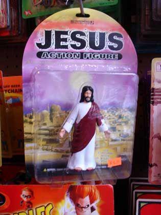 """Trend """"Schrille Sachen"""": Jesus Action Figure für Erwachsene"""