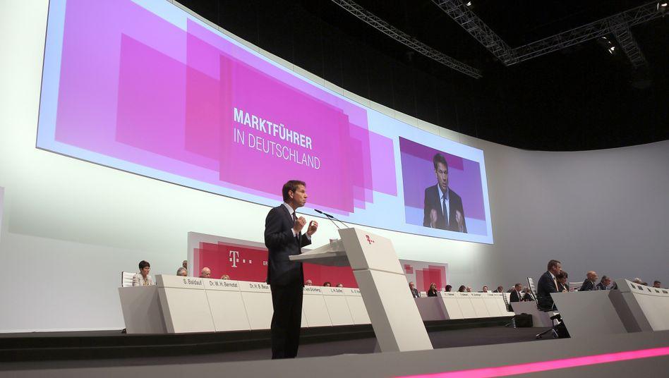 """Deutsche-Telekom-Chef René Obermann: """"Matheaufgaben für die Kinder meiner Vorstandskollegen"""""""