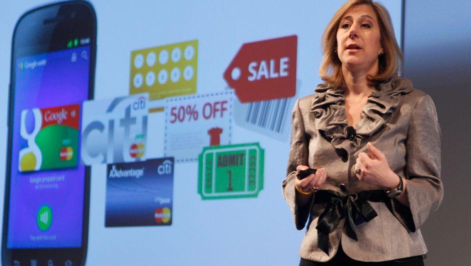 """""""Das Handy wird zum Portemonnaie"""": Google-Managerin Stephanie Tilenius"""