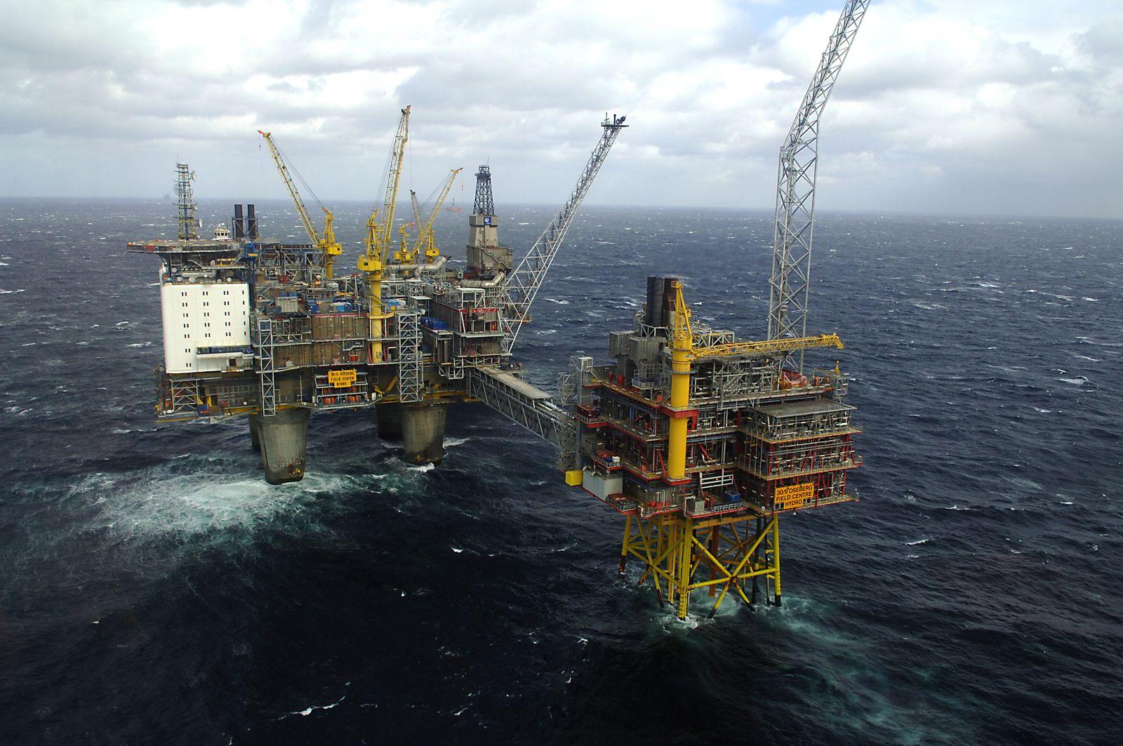 Statoil / Nordsee / Gas / Bohrinsel / Norwegen