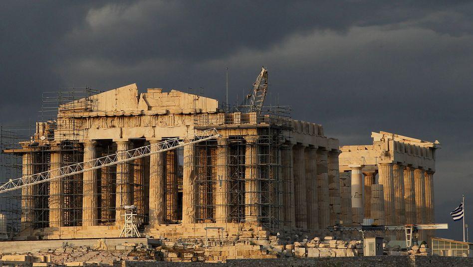 Her mit dem Geld: Griechenland braucht weitere Milliarden aus Europa