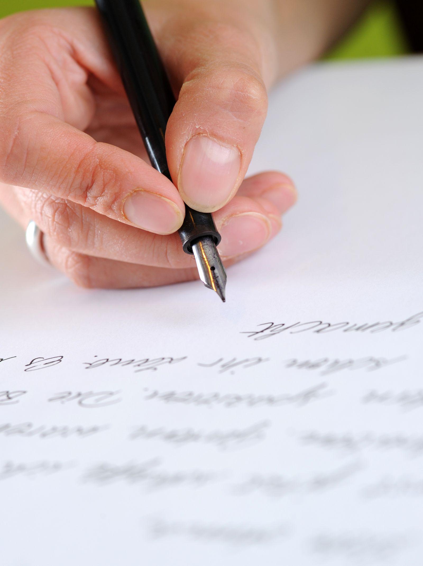 Füller / Brief / Handschrift