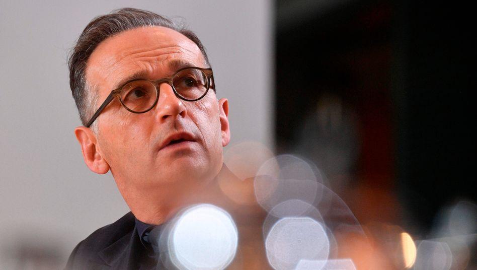 """Außenminister Heiko Maas: """"Bitte bleiben Sie zu Hause"""""""