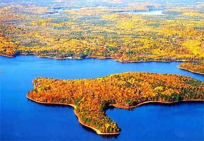 La Mouna Island, Novo Scotia (Kanada), Größe: 370.000 Quadratmeter, Kaufpreis: 280.000 Kanadische Dollar
