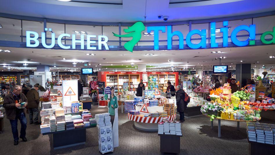 Buchhandelskette Thalia: Hinter der Tochter der Douglas Holding liegt eine positive Entwicklung, betont Holding-Chef Kreke