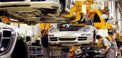 """Porsche-Produktion : """"Lieber bauen wir ein Fahrzeug zu wenig als eines zu viel"""""""