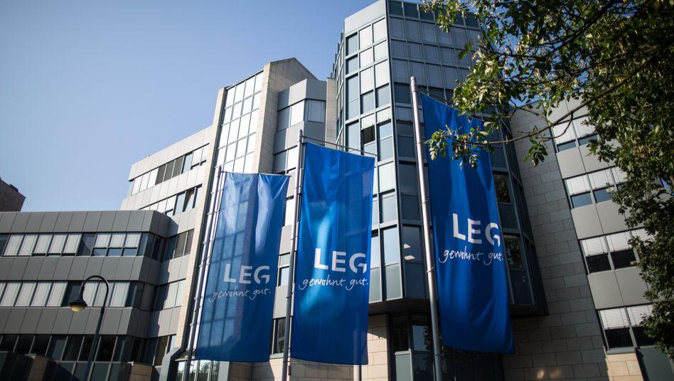 Doch keine Großfusion auf dem deutschen Markt für Wohnimmobilien: Zentrale des Immobilienkonzerns LEG in Düsseldorf