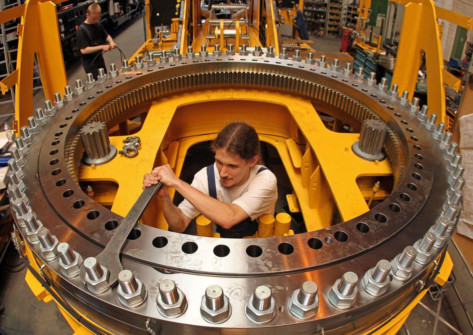 Deutschland / Konjunktur / Wirtschaft / Metallindustrie