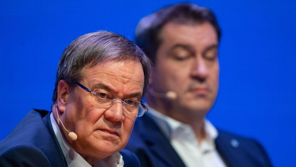 Armin Laschet oder Markus Söder: Einer der beiden dürfte die CDU in die nächste Bundestagswahl führen