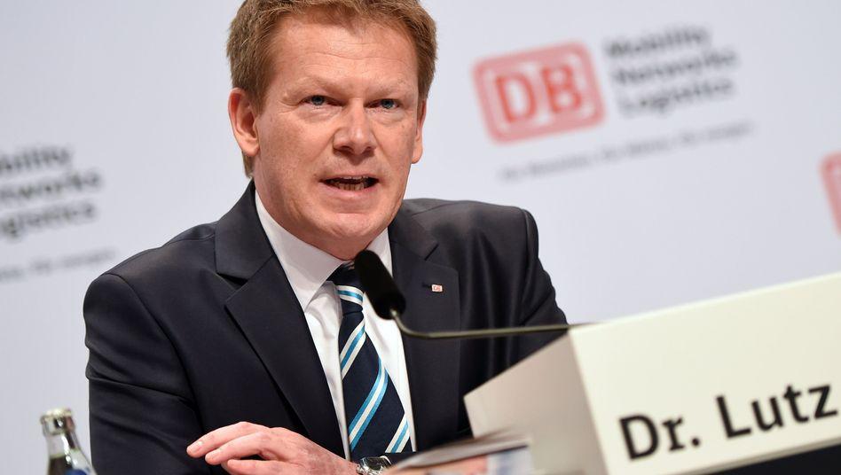 """""""In einer schwierigen Situation"""": Bahn-Chef Richard Lutz"""