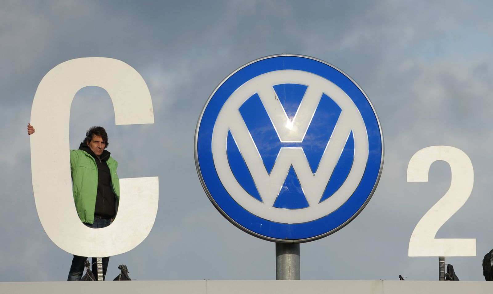 Greenpeace Volkswagen CO2