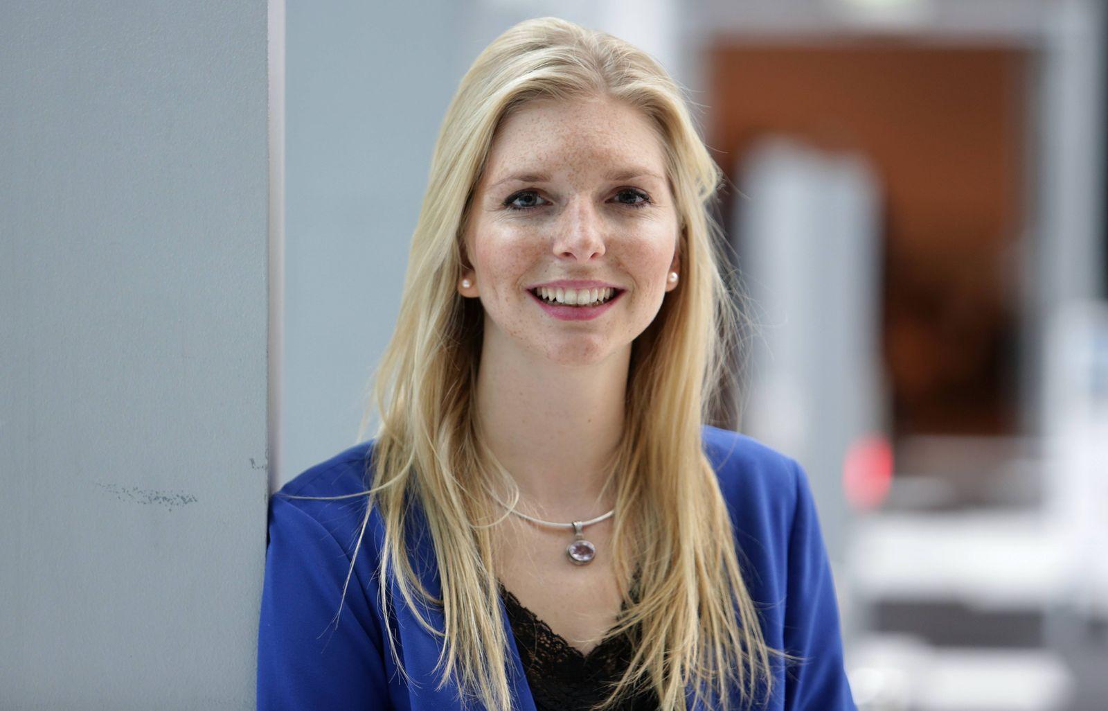 DEUTSCHLAND BONN 23 01 2014 Lea Sophie Cramer Gründerin und Geschäftsführerin des Start Up amore