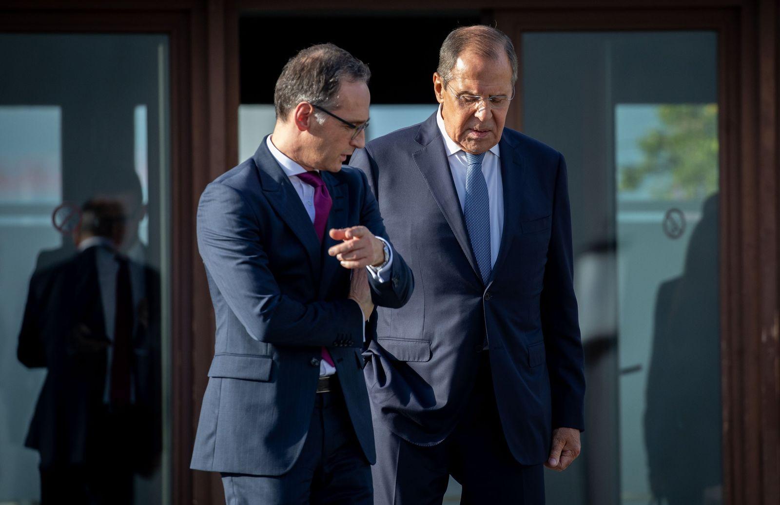 Russlands Außenminister Lawrow bei Außenminister Maas