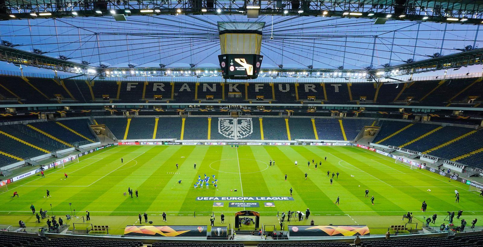 Eintracht Frankfurt - Leeres Stadion