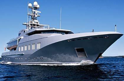 Schnittig wie ein Hai: Die Skat hat die Optik eines Schnellboots der Marine