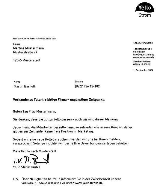 Bewerber Absagen Bitte Recht Freundlich Manager Magazin 11
