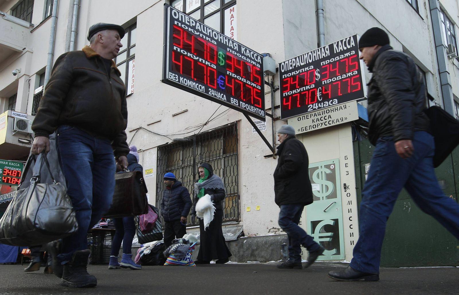 Rubel Rekordtiefe