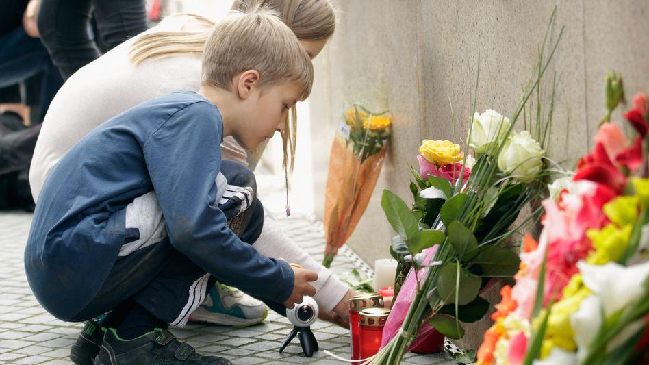 Trauer in München: Drei der Opfer waren 14 und zwei Opfer 15 Jahre alt