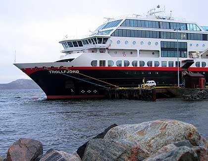 """Hurtigrutenschiff """"Trollfjord"""": Der schönste Ort an Bord ist auf Deck neun"""